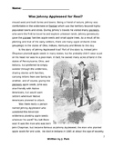 Tall Tale: Johnny Appleseed w/ 16 Reading Comprehension &