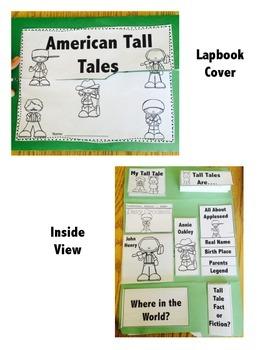 Tall Tale Lapbook