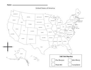 Tall Tale Map