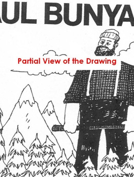 Tall Tale PAUL BUNYAN + 10 Reading Comprehension Qs Main Ideas, Author's Purpose