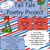 Tall Tale Poetry Project