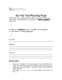 Tall Tale Pre-Writing and Planning Page