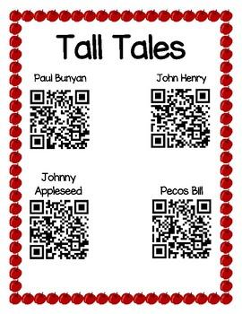 Tall Tale QR Codes