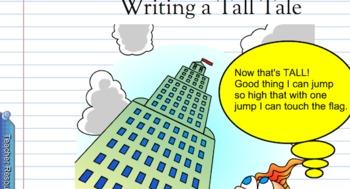 Tall Tale SMARTboard Writing Lesson
