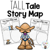 Tall Tale Story Map