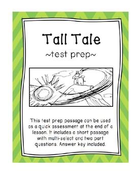 Tall Tale Test Prep
