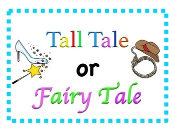 Tall Tale or Fairy Tale