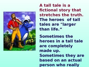 Tall Tales PowerPoint
