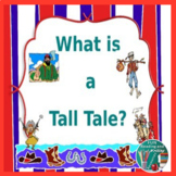 Tall Tales PowerPoint Distance Learning
