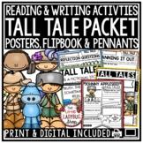 Tall Tales Unit [Davy Crockett, Paul Bunyan, Zorro -Tall Tales Activities]