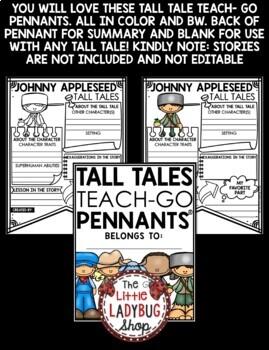 Tall Tales Activities [Davy Crockett, Johnny Appleseed, Paul Bunyan, Zorro]
