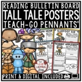 Tall Tales Writing Activity: Davy Crockett, Johnny Appleseed, Paul Bunyan & More