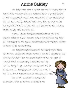 Tall Tales {Annie Oakley}
