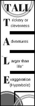 Tall Tales Bookmark