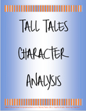Tall Tales Character Analysis Activity