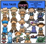 Tall Tales Clip Art Bundle {Educlips Clipart}