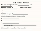 Tall Tales Close Read Unit: Paraphrasing and Summarizing POWERPOINT