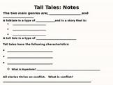 Tall Tales Close Read Unit: Paraphrasing and Summarizing P