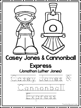 Tall Tales Coloring Book worksheets.  Preschool-2nd Grade