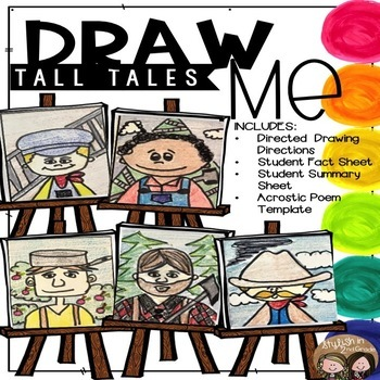 Draw Me! Tall Tales-Directed Drawings (CKLA, Core Knowledge)