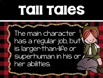Tall Tales Elements Posters