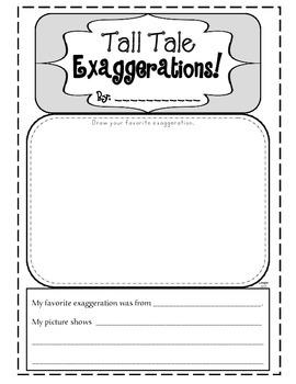 Tall Tales Exaggeration Extension