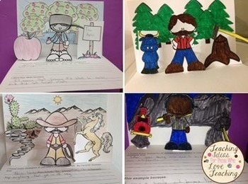 Tall Tales: Fun With Figurative Language and Create Your Own Pop Up Books