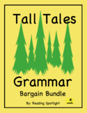 Tall Tales Grammar Review: Bargain Bundle (Distance Learning)