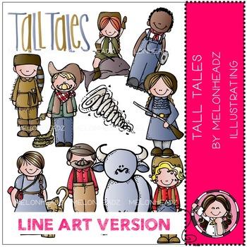 Tall Tales by Melonheadz LINE ART