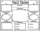 Tall Tales Mapping Out the Setting Graphic Organizer for Any Tall Tale Text