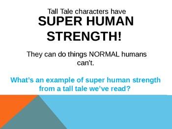 Tall Tales PPT