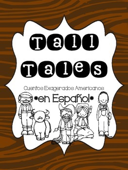 Tall Tales Pack * SPANISH * [Cuentos Exagerados Americanos]