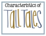 Tall Tales Posters - English and Spanish