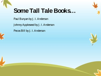 Tall Tales (Powerpoint)