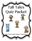 Tall Tales Quiz Packet