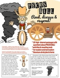 Tall Tales Reading Comprehension | Pecos Bill passages and