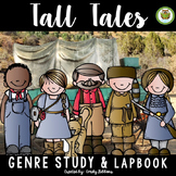 Lap Book: Tall Tales | Graphic Organizer Activity Writing
