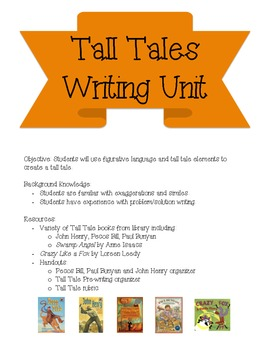 Tall Tales Writing Unit