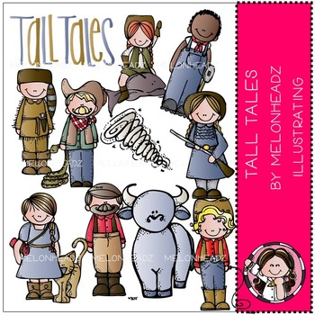 Tall Tales clip art - COMBO PACK- by Melonheadz
