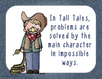 Tall Tales from America's Wild West: A Literacy Unit