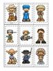 Tall Tales themed Memory Matching Cards.  Preschool learning game.
