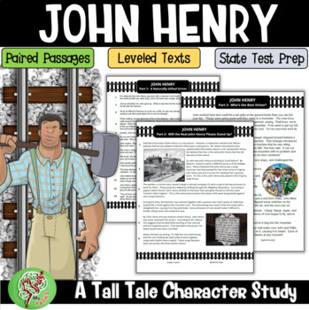 Tall Tale: John Henry (Paired Reading and Comprehension Questions)
