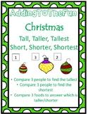 Tall, Taller, Tallest & Short, Shorter, Shortest ~ Christm