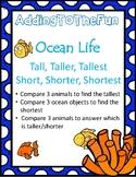 Tall, Taller, Tallest & Short, Shorter, Shortest ~ Ocean M