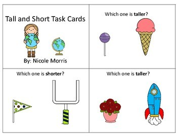 Tall and Short Task Cards
