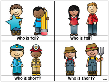 Tall vs. Short Task Cards