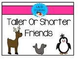 Taller Or Shorter Friends - Measurable Attributes