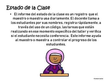 Taller de Escritura/ Writing Workshop in Spanish unit 1