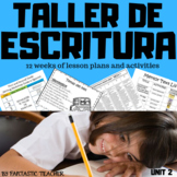 Taller de Escritura. Writing workshop in Spanish Unit 2