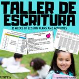 Taller de Escritura. Writing workshop in Spanish Unit 3 fr